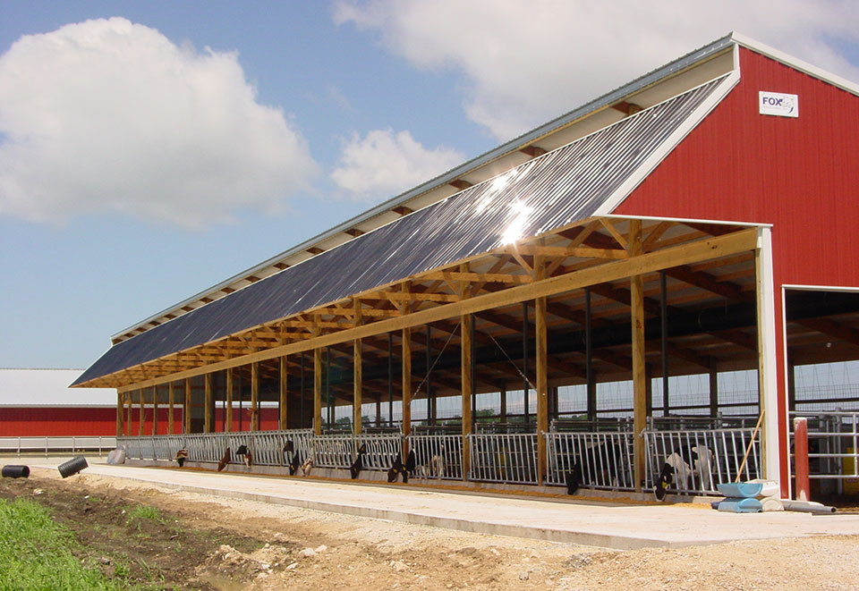 cattle shed Cattle guards cow country guards portable building examples: this is a 15' 8 x 40' enclosed calving shedthere are.