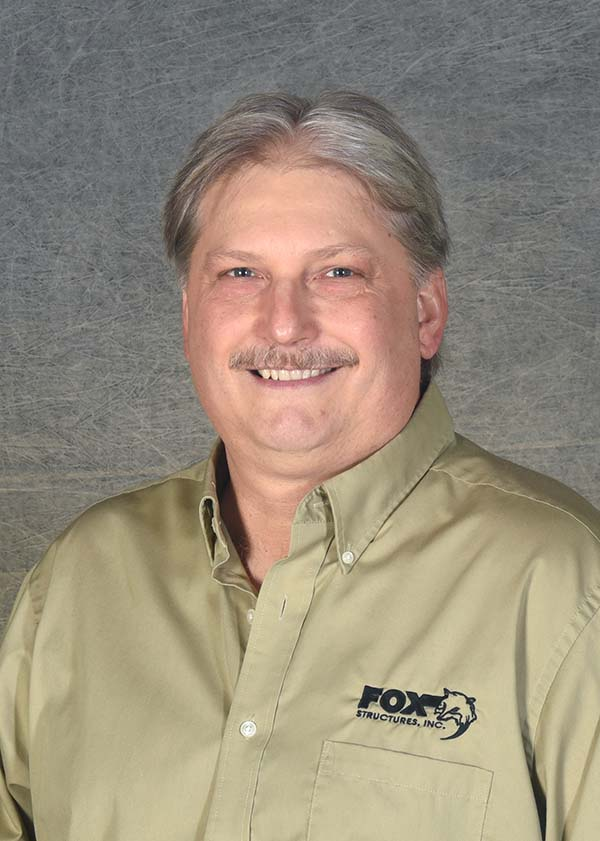 Headshot of Fox Structures President Mark Mashlan