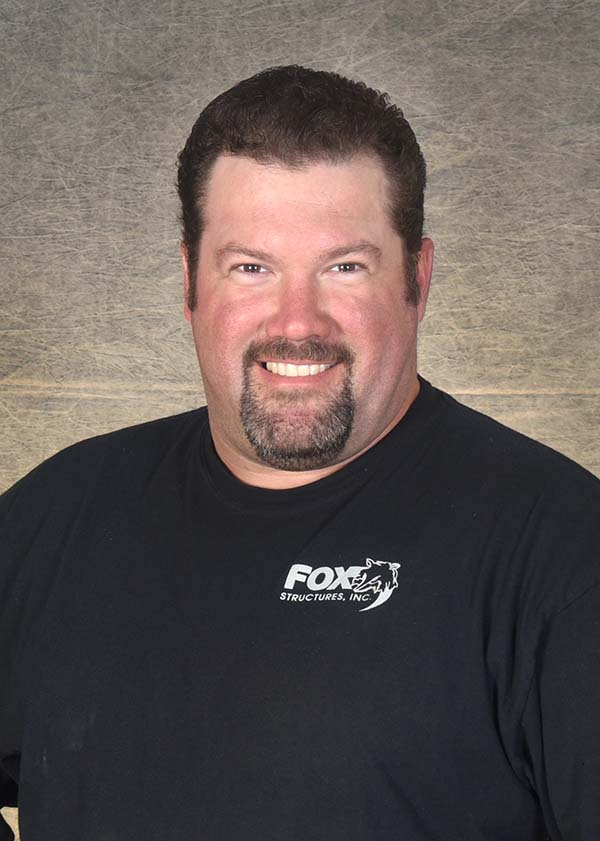 Headshot of Fox Structures Weld Shop Foreman Tim Allen