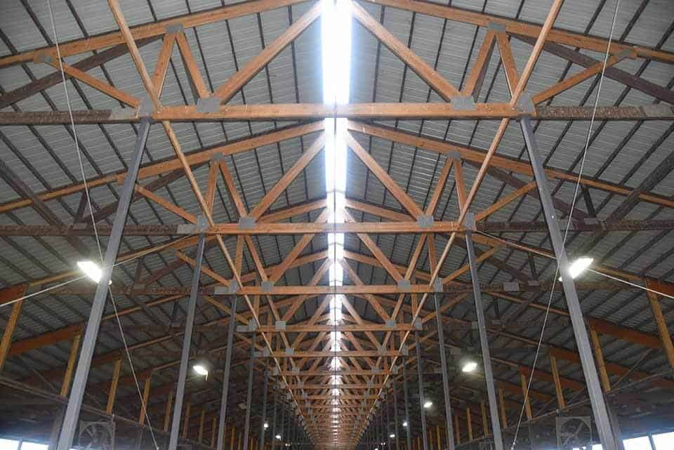 Milk Source's New Barns Roof and Support System