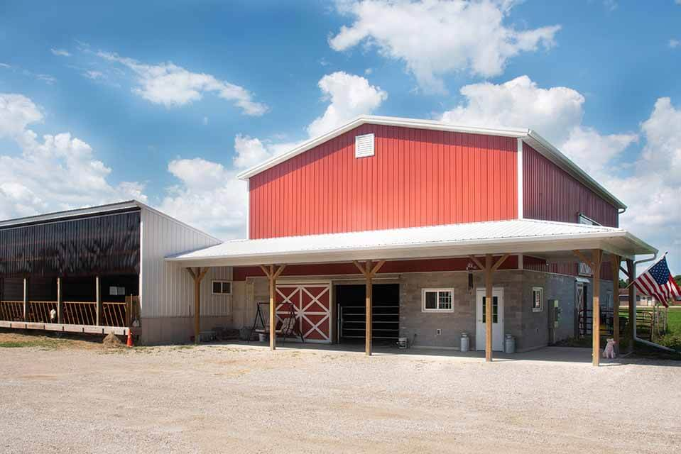 Kesler Family Farm built by Fox Structures