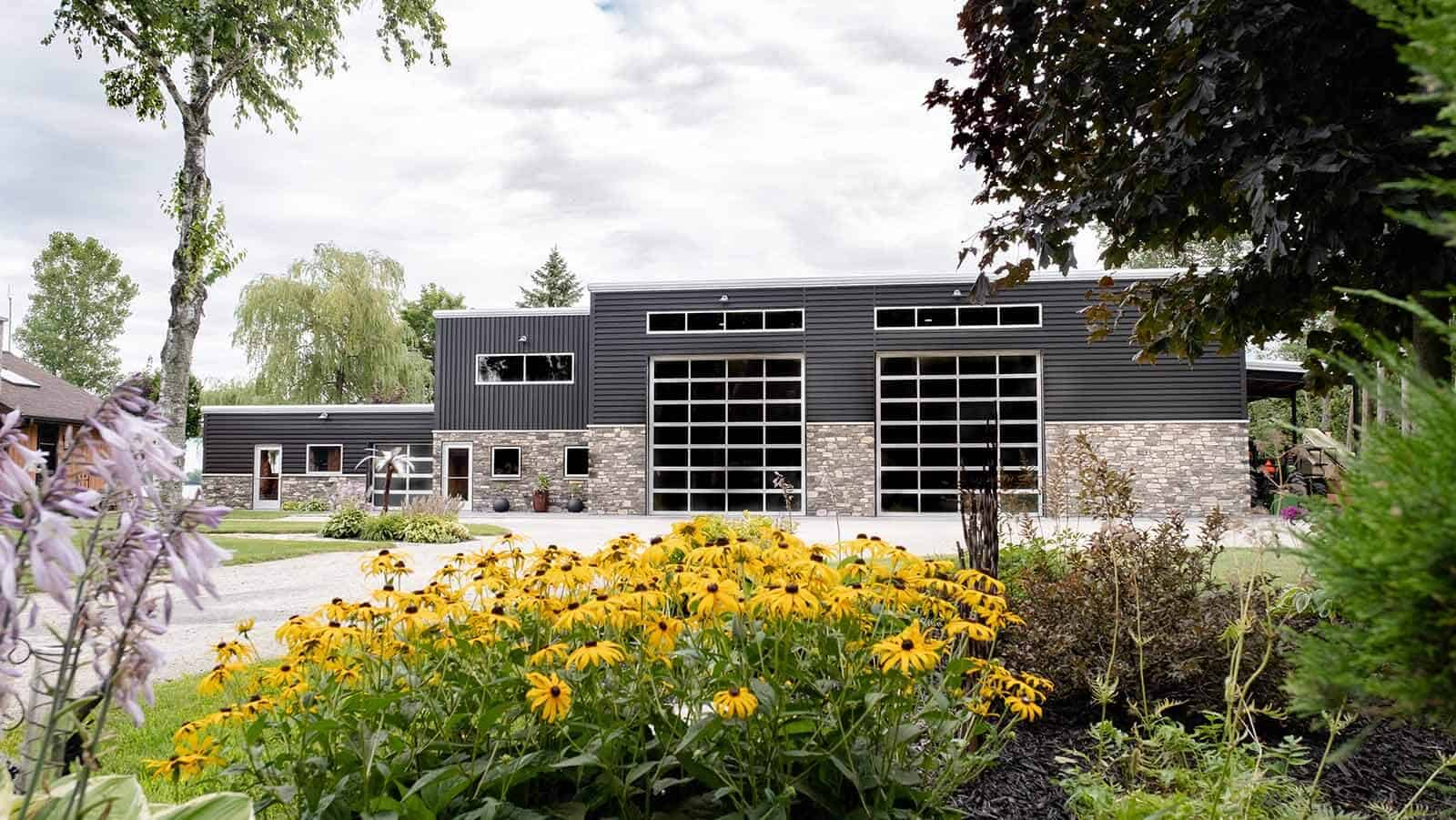 Troy and Gail Temme's Waterfront Workshop, commercial building in Sturgeon Bay, WI