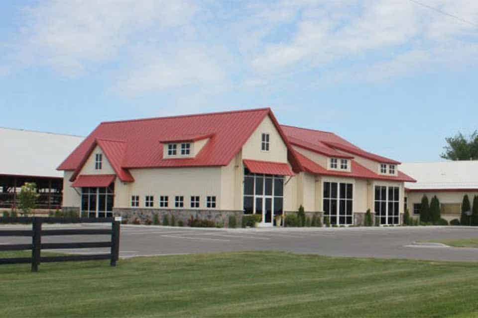 Commercial and Agricultural construction in Kaukauna, WI, Milk Source office complex